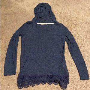 Hooded Knit Top